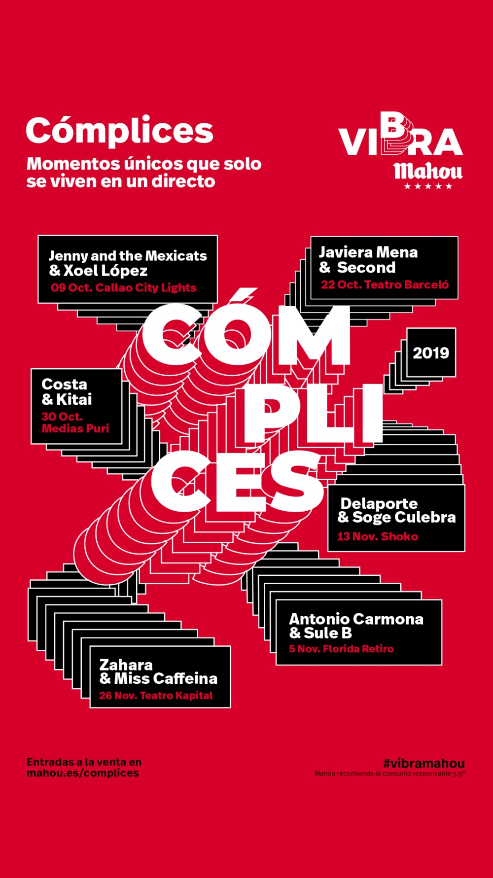 CARTEL CÓMPLICES DE VIBRA MAHOU 2019.jpg
